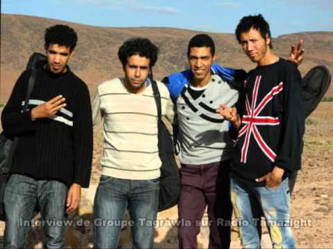 Interview de Groupe TAGRAWLA sur Radio Tamazight