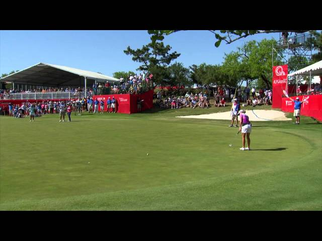 Stacy Lewis' Looks Back on 2014 Home State Texas Victory