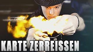 KARTE ZERREISSEN UND WIEDERHERSTELLEN - Kartentricks mit Erklärung auf Deutsch