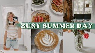 DAY IN THE LIFE: morning shift, summer classes, art, & gourmet dinner!