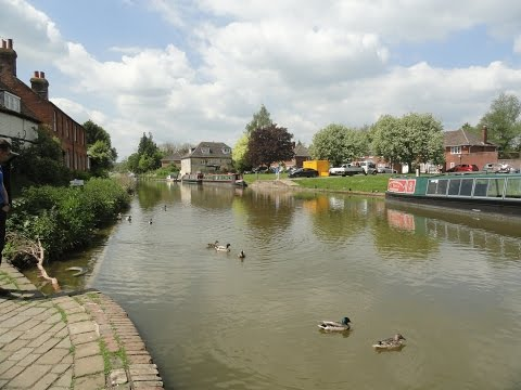 Some sights around beautiful, charming Hungerford Town, West
