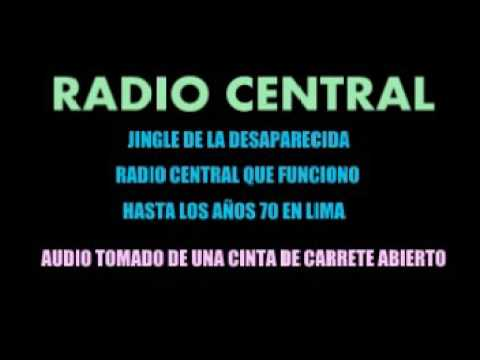 RADIO CENTRAL   LIMA 1969