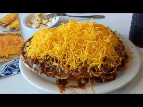Skyline chili Cincinnati Ohio Anderson township food review