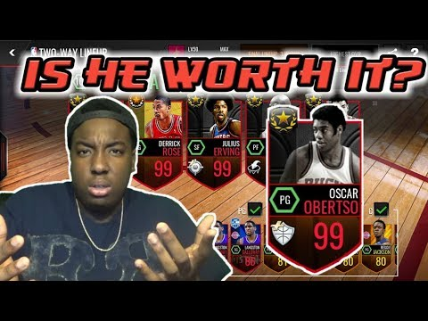 NBA LIVE MOBILE | NEW 99 OVR ULTIMATE LEGEND OSCAR ROBERTSON GAMEPLAY!!!