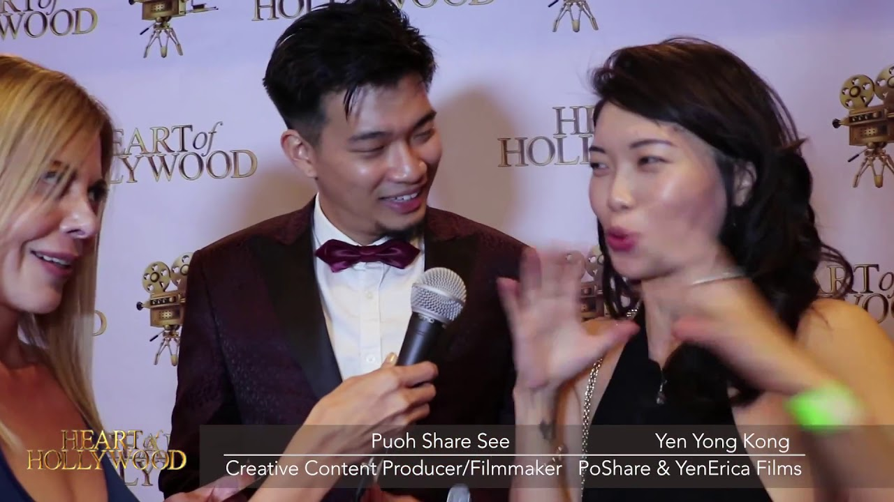 Download Pouh Share & YenErica Red Carpet Interview   Heart Of Hollywood Media