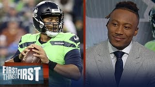 Russell Wilson is the X-Factor for the Seahawks - Brandon Marshall | NFL | FIRST THINGS FIRST