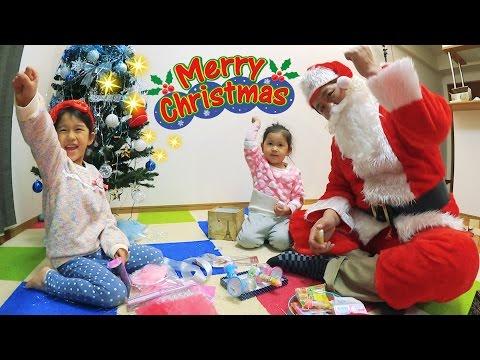 ●普段遊び●クリスマスプレゼント交換のおもちゃで遊んだよ^^サンタさんに緊急手術☆まーちゃん【5歳】おーちゃん【3歳】