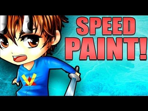 A Minecraft Tale Animated Speedpaint!