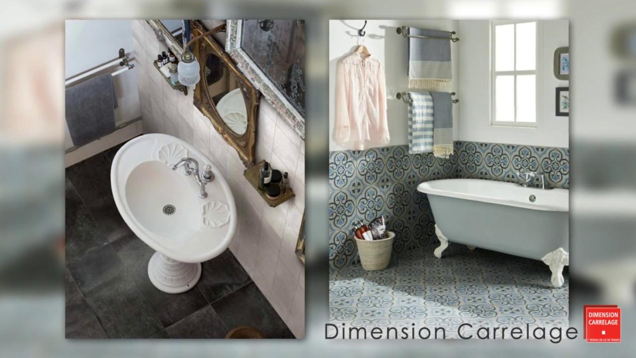 dimension carrelage nouveaut d coration de salle de bain youtube. Black Bedroom Furniture Sets. Home Design Ideas