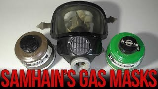 Обзор итальянского противогаза Spasciani TR-73 | Italian gas mask TR-73