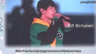 [ENG SUB] 161112 BTS V 3rd Muster Talk about His Grandmother that has passed away