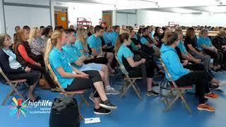 High Life Highland Staff Training Session