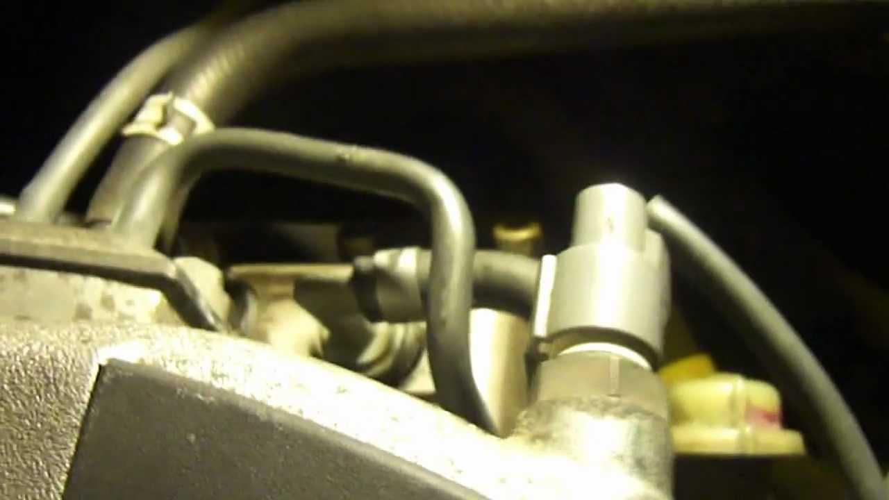 Acura Tl Fuel Filter Location Pcv Valve Replacement Honda Accord 2000 Ex V6 Informative