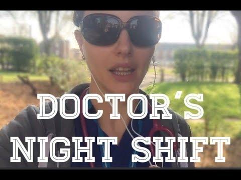 Junior doctor night shift vlog FY1