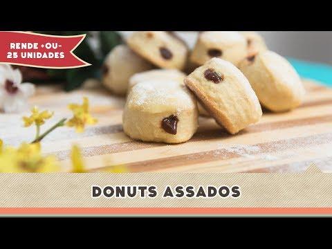 Donuts Assados - Receitas de Minuto #144