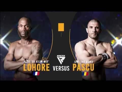 BAMMA 35: Alex Lohore vs Ion Pascu