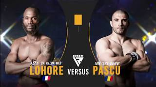 BAMMA 35: Alex Lohore vs Ion Pascu