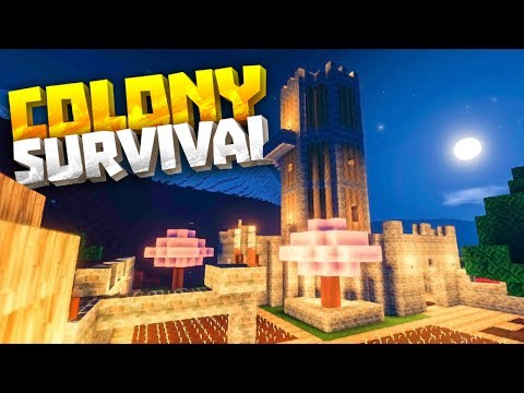 NEW TREES, BLOCKS & WOOD UPDATE - Colony Survival PC Gameplay Part 5 - New Survival Minecraft Clone