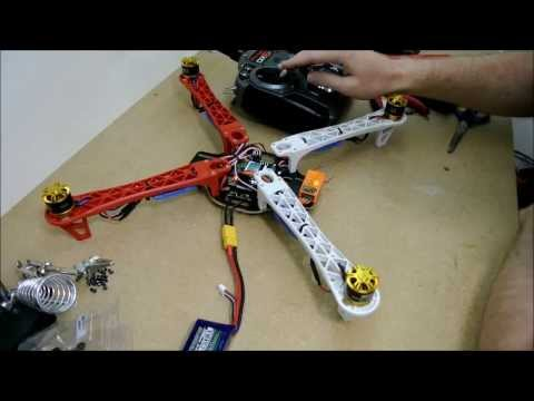 K450 Quadcopter build Tutorial The Drone Worx