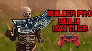 SUPER INTENSE BUILD BATTLES WITH BUILDER PRO! - Top Builder Pro Builder - Fortnite Battle Royale