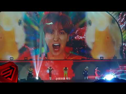 180401 Super Junior Super Show 7 in Taipei-Power Ranger 人物Cosplay
