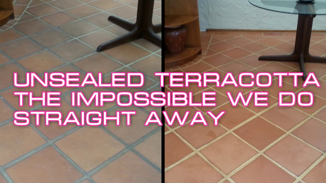 How To Clean Unsealed Terracotta Tiles By Alpine Carpet Tile