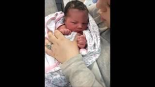 Рождение внучки Оливии 29 мая 2016