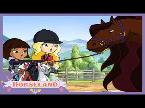 Horseland Full Episodes - Magic In The Moonlit Meadow | Season 1, Episode 19 Horse Cartoon 🐴💜