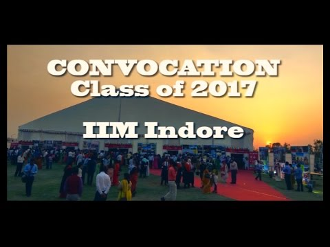 Convocation | IIM Indore | Class of 2017