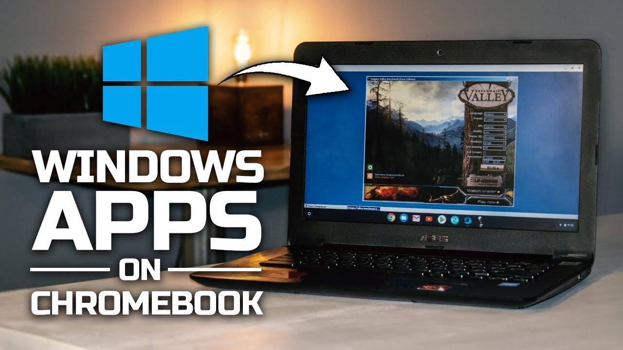 WINDOWS APPS ON CHROMEBOOK?! | Crossover APK [JULY 2019]