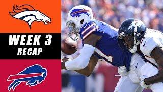 Broncos vs Bills Recap: Week 3 2017