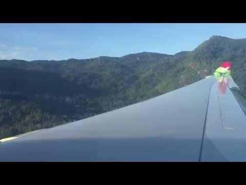 Air Seychelles A330-200 Landing Mahe (SEZ)Airport