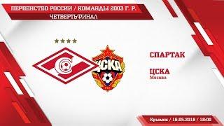 Спартак 2003 г. р.   ЦСКА