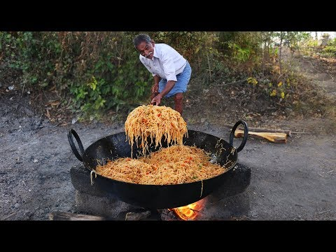 Chicken Noodles Recipe | Amazing Chinese Chicken Hakka Noodles | Grandpa Kitchen
