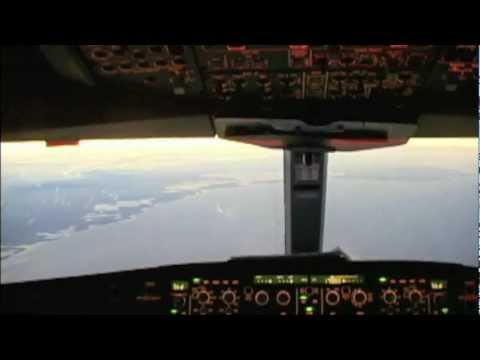 Sunset Approach to Holguin - A330
