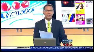 El Noticiero Televen - Primera Emisión - Jueves 20-07-2017