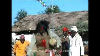 Tell tale signs of African ancestry - Siddhi tribal music & dance!