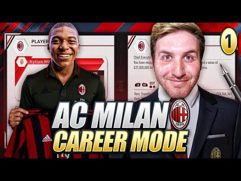 NEW CAREER MODE! MBAPPE?!