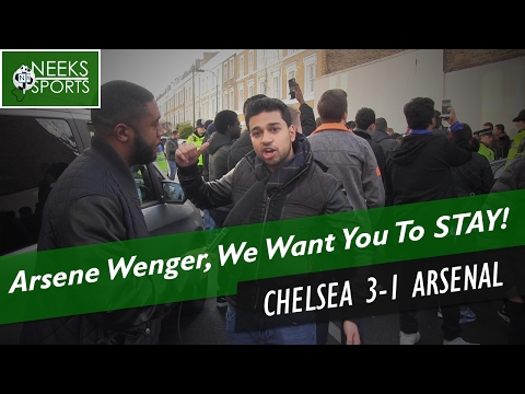 Arsene Wenger, We Want You To STAY! - Chelsea 3-1 Arsenal - #NeeksSports