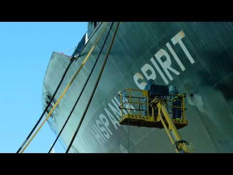 Up Close and Personal: Hispania Spirit Dry-docking | Teekay