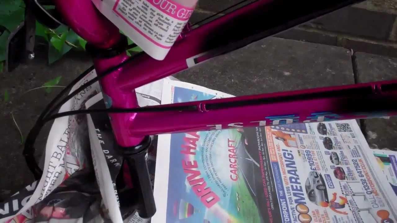 Groß Fahrradrahmen Repaint Zeitgenössisch - Bilderrahmen Ideen ...
