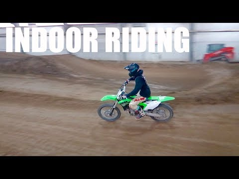 INDOOR DIRT BIKE RIDING | Day Trip