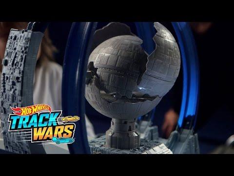 Gwiezdne Wojny Kosmiczny tunel  Track Wars  Hot Wheels