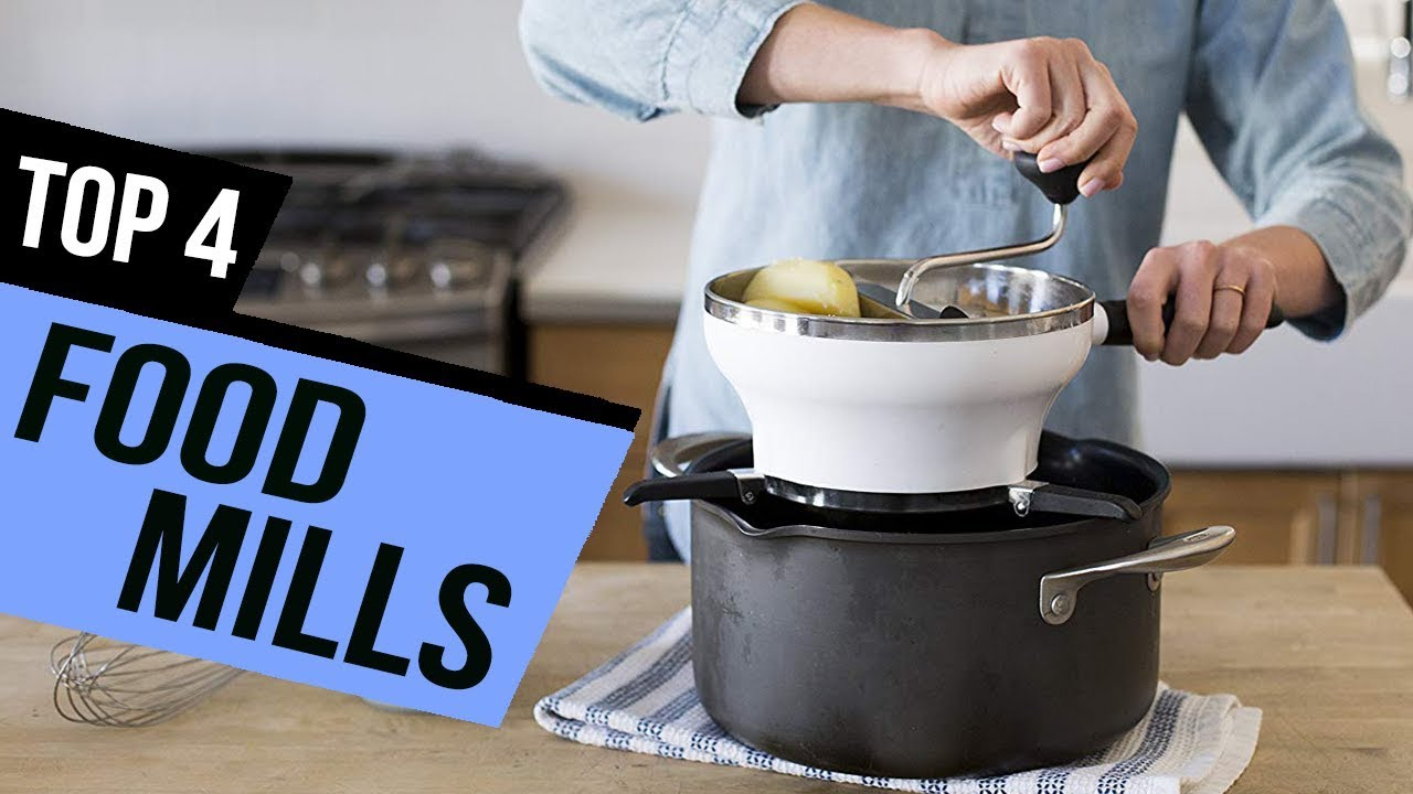4 Best Food Mills 2019 Review - YouTube