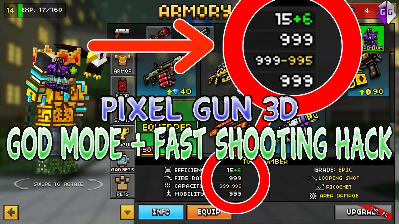 pixel gun 3d hack download ios 2018