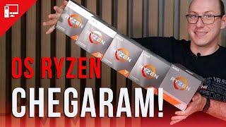 INVASÃO ZEN2: chegaram os Ryzen 3000 e mostramos as novas tecnologias e os modelos!