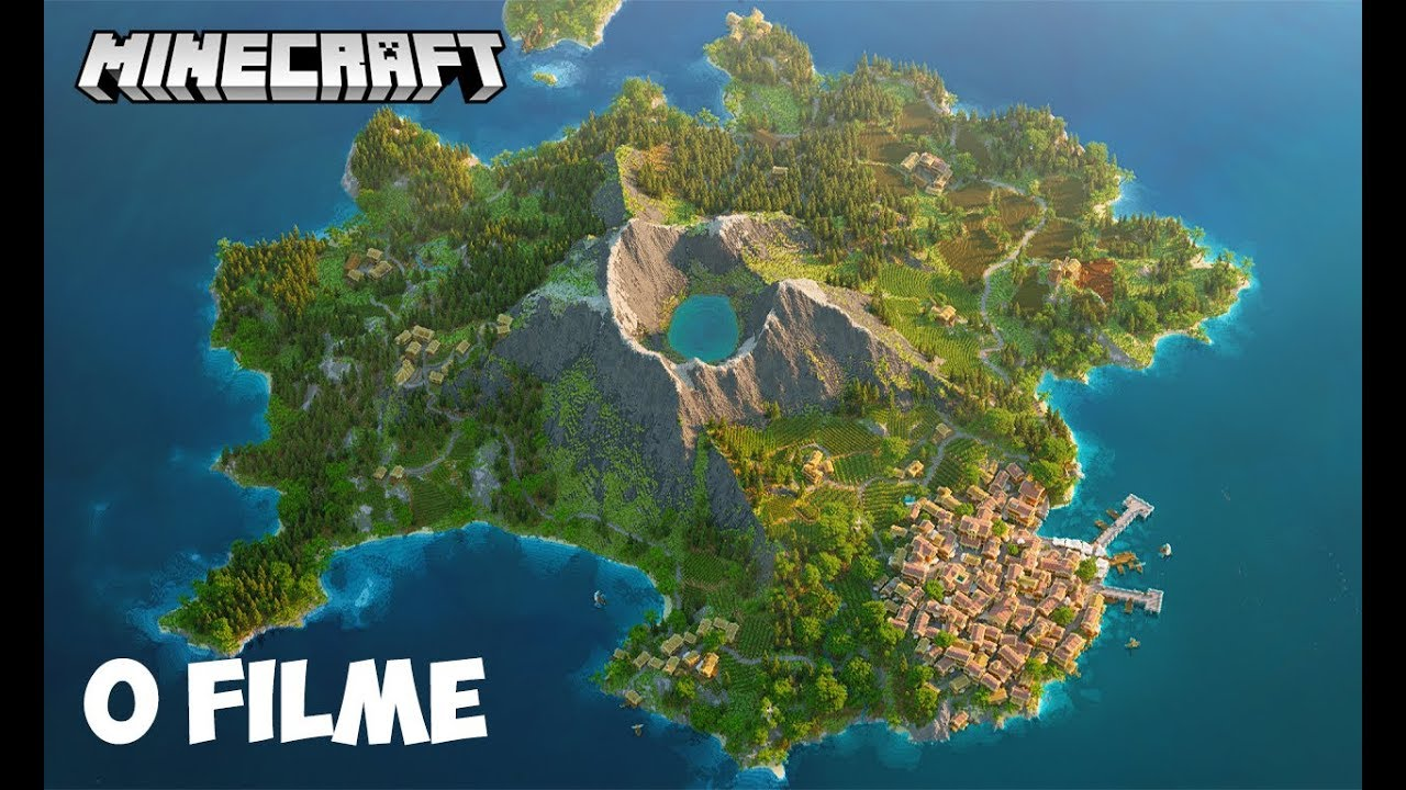 Minecraft - O FILME | PERDIDOS NA ILHA #1