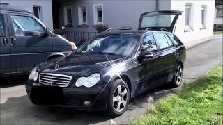 Mercedes W203 / S203 - Feststellbremse reparieren