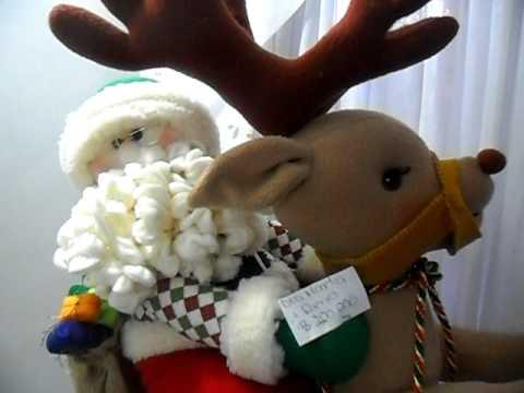 Mu ecos de navidad 2010 parte 1 youtube - Manualidades munecos de navidad ...