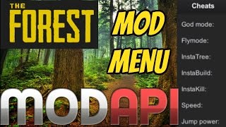 The Forest Any Version - How to install a Mod menu - online - Hack [Steam]